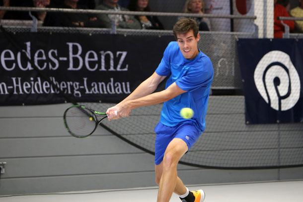 Mats Moraing während des Finalspiels