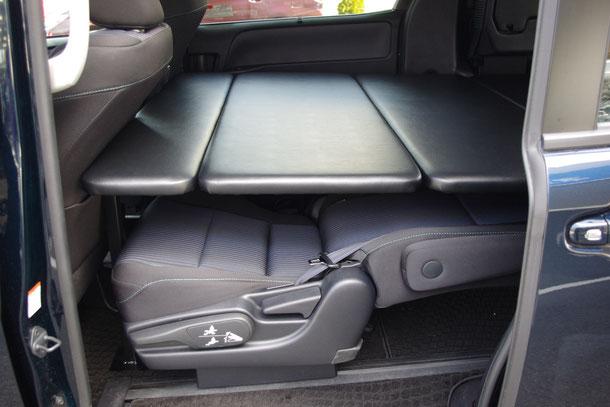 80VOXY NOAH ESQUIRE ヴォクシー ノア エスクァイア ベッド 車中泊 ミニバン専用ベッド 内装 ベッドキット