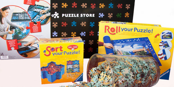 Accessoires voor het maken van puzzels