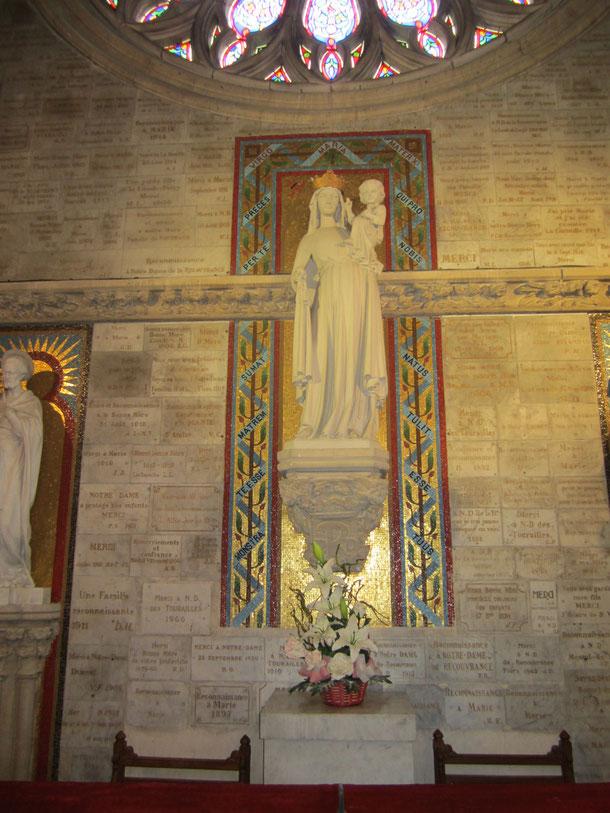Détail de la Statue de la Vierge