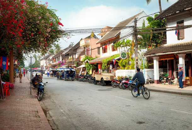 Luang Prabang Stadt