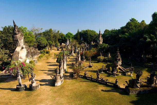 Buddhapark in Vientiane