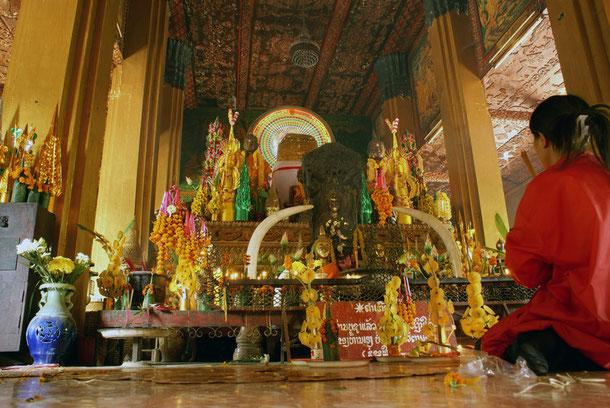 Tempel in Vientiane