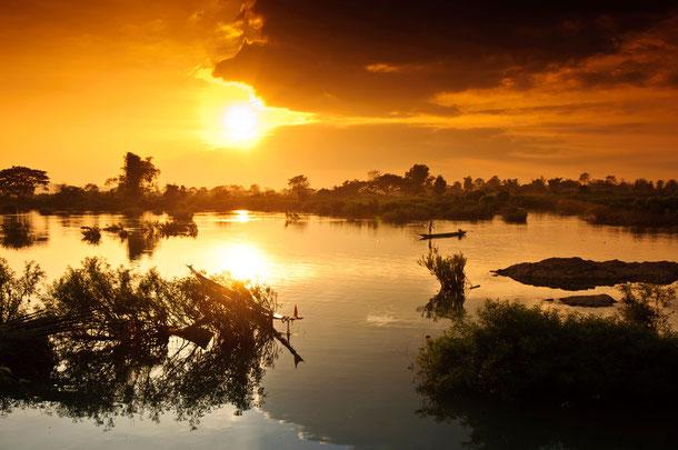 Si Phan Don - Viertausend Inseln
