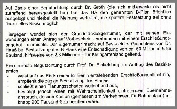 aus dem Vermerk vom 24.02.2012, erstellt vom Leiter des Stadtplanungsamtes Charlottenburg-Wilmersdorf