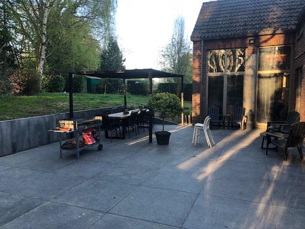 aménagement extérieur parc et jardin terrasse