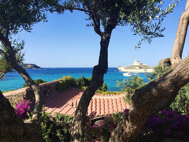 Mein Pensionstraum. Eine Villa in Piccolo Pevero mit dieser Aussicht.