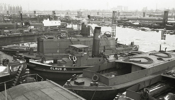 Use as steam plant, January 1970. Foto Detlev Luckmann