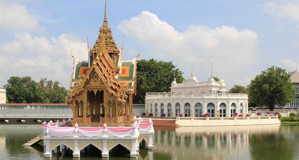 Ayutthaya Reisetipps Bang Pa In Palast