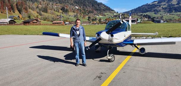 On Ground in Saanen/Gstaad