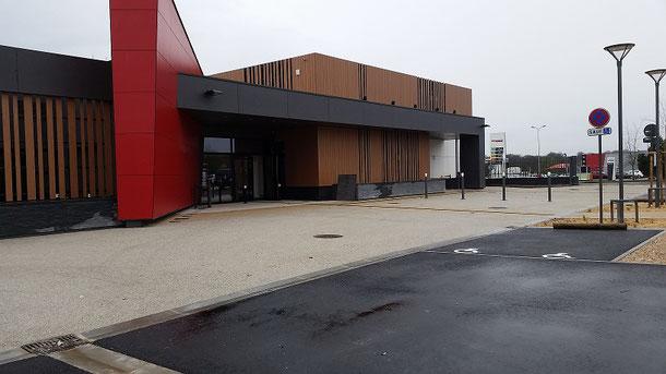 Salle des fêtes - CANTELEU - Cabinet Pascal PHILIPPE
