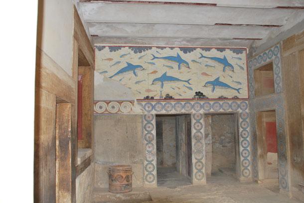 Auch einige der tollen Wandmalereien sind noch erhalten