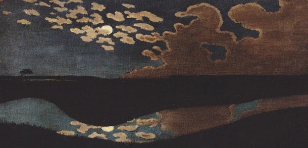Félix Vallotton Clair de Lune  (détail)