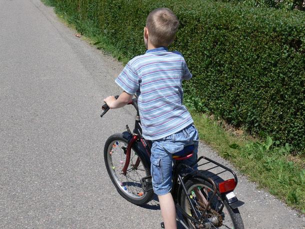 samen (leren) fietsen