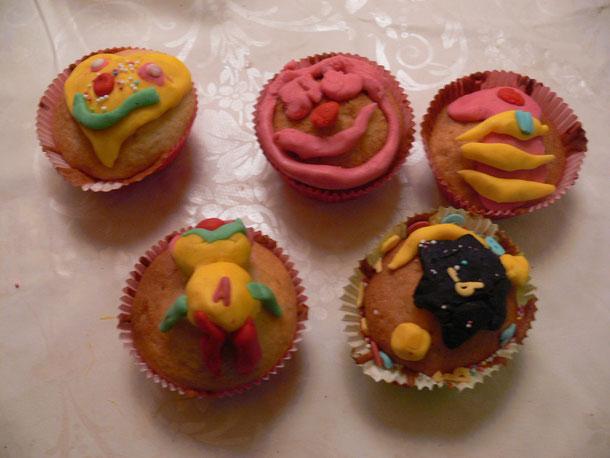 cupcake's bakken.....blijft leuk voor groot en klein.