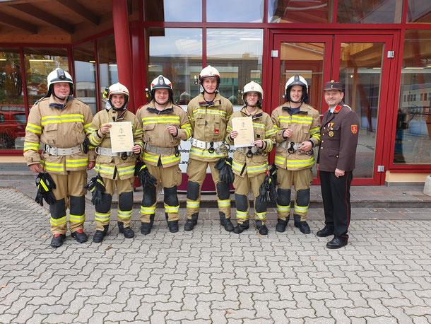 Atemschutzleistungsprüfung Stufe II - Silber - Feuerwehr Fuschl am See