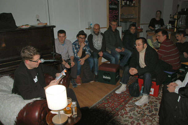 Autorenlesung Lars Gebhardt 22.02.14 Unna, Spatz & Wal