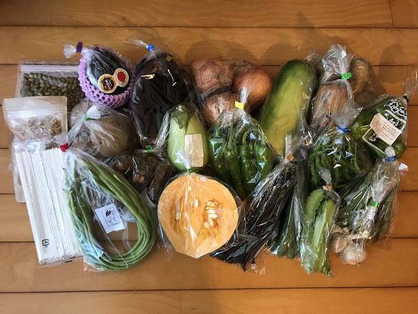 これが10周年記念お野菜セット!