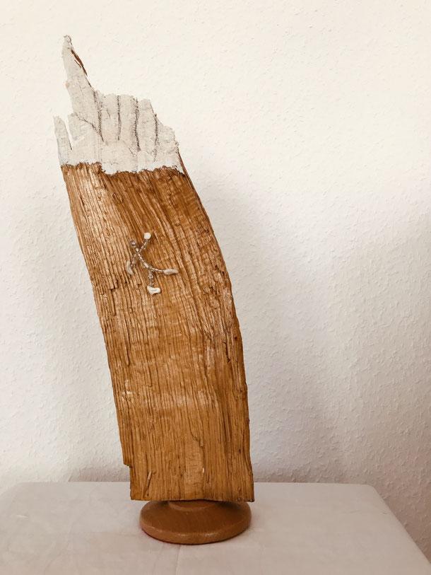Hand of God, wood, 50 x 11x 10 cm, 2021, 5