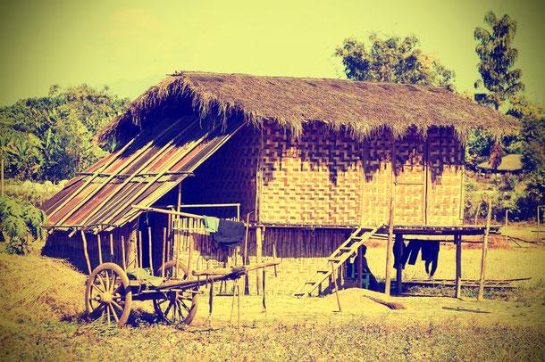 Dorf in Myanmar
