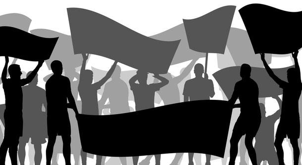 In Myanmar sollte man sich von Demonstrationen und politischen Kundgebungen aller Art fernhalten.