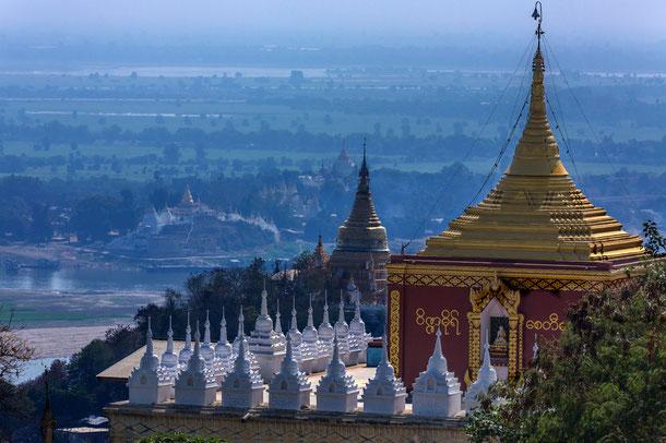 Tempel am Irrawaddy