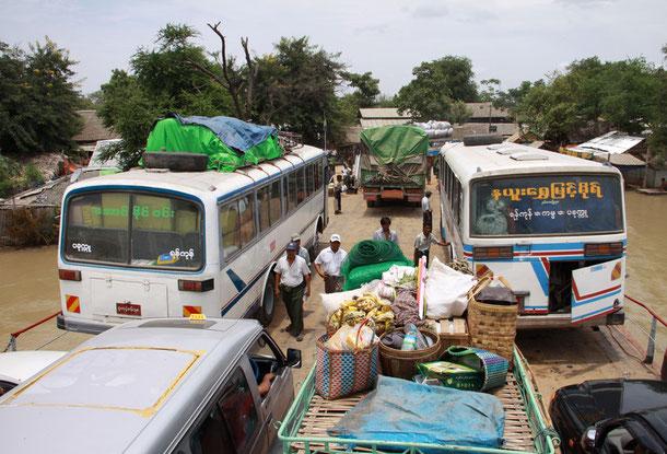 Bus Verbindung Magwe