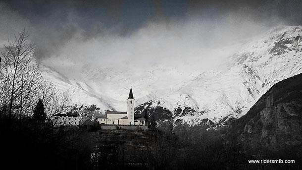 La chiesa di San Vincenzo... è da presepe