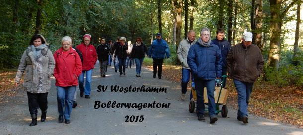 Bei herrlichen Wetter ging es am 11. Oktober 2015 durch den Wingster Wald, weitere Bilder finden - einfach auf das Bild klicken.