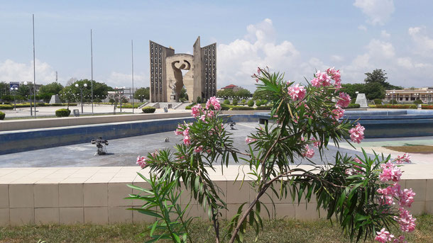 Platz der Unabhängigkeit in Lomé