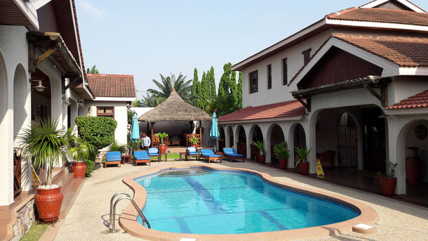 Die Mahegony Lodge in Accra