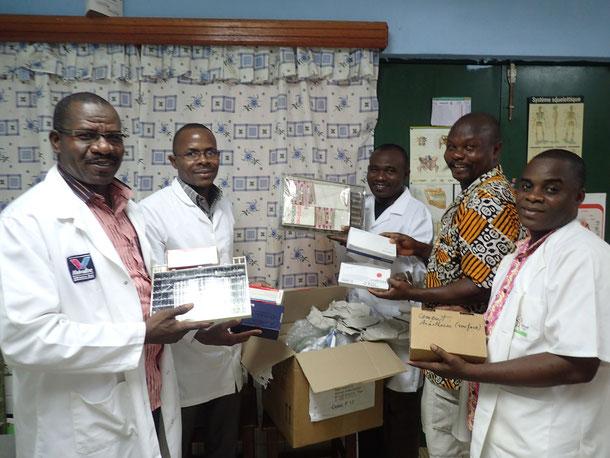 Togohilfe Spende Zahnstation in Kpalimé