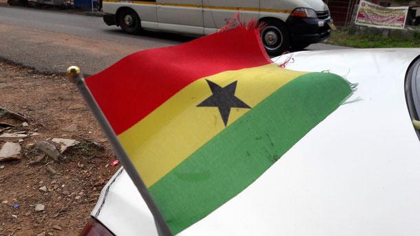 Ghana Flagge