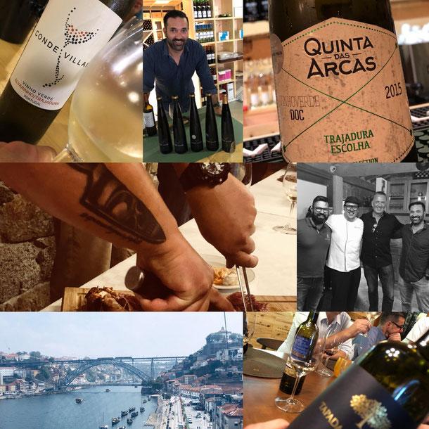 Besuch mit Kunden aus Norddeutschland bei QUINTA DAS ARCAS, Portugal.