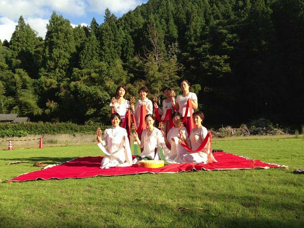 2013 黒滝村合宿にて