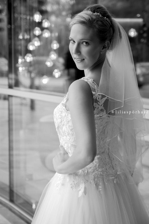 Braut, le meridien hotel, Hamburg, liliaspoerhase, Hochzeit, Fotografie, Lilia Spörhase