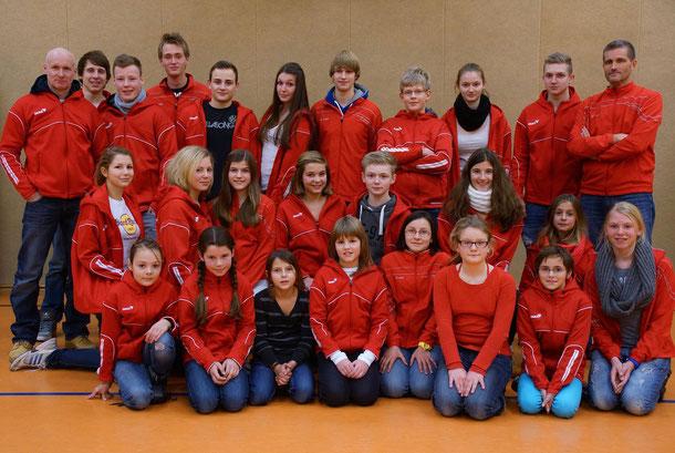 Leichtathleten der Altersklassen U12-U20