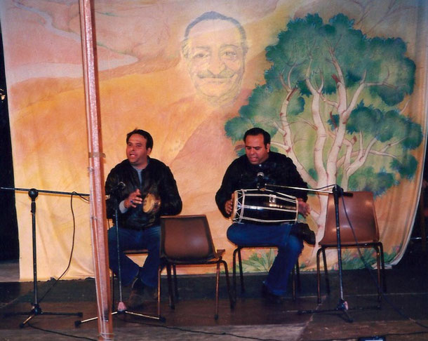 Sohrab & Rustom Irani at the Avatar's Abode Anniversary 1988 : photo taken by Anthony Zois