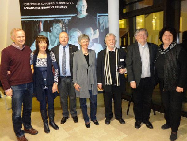 Nach den Neuwahlen im März 2015: Ralf Habermann, Dorothea Herzog, Manfred Schmid, Christa Rennette-Arens, Roland Wiesmeier, Fitzgerald Kusz, Christa Schmid-Sohnle