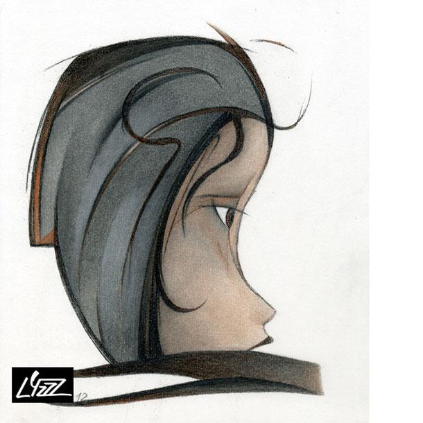 Lyzzz'Art - illustrations, graphite, fusain, pastel, crayon couleur, acrylique, encre
