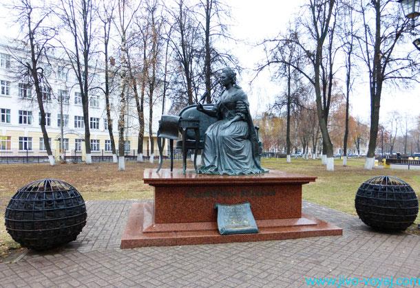 Памятник Екатерине Великой в Подольске