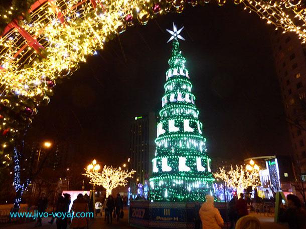 Новогодняя елка в Сокольниках