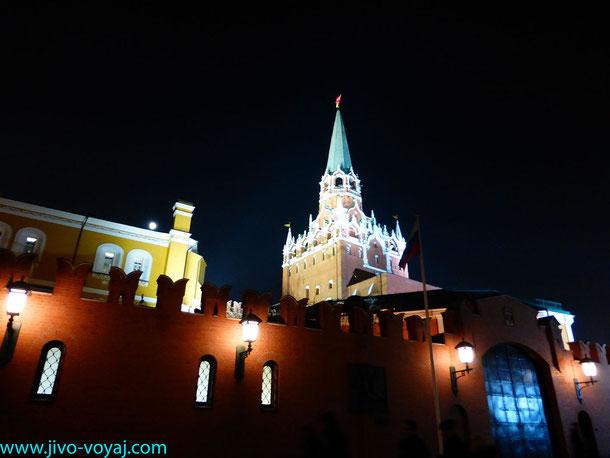 Кремлевская стена. Вид из Александровского сада