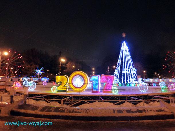 Елка в парке Сокольники