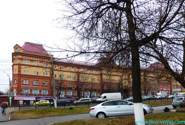 Красные ряды в Подольске