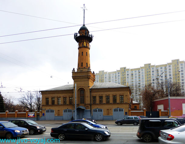 Пожарная каланча в Сокольниках