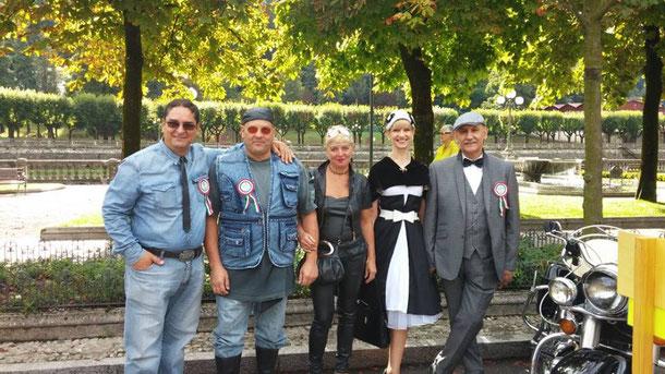 3 Settembre 2017 - Concorso di eleganza a San Pellegrino Terme