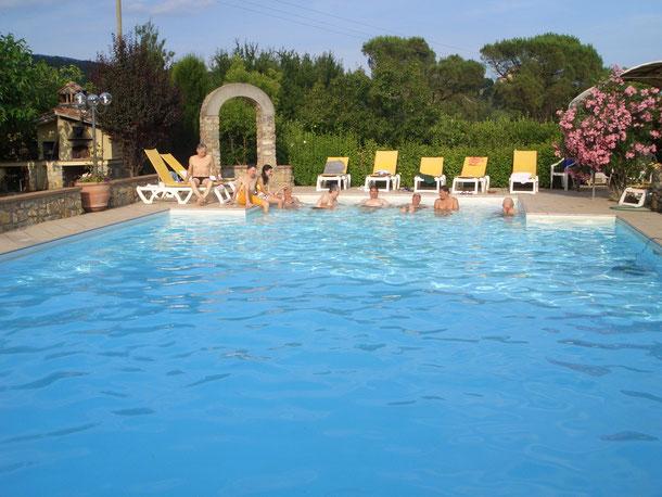 30 Giugno 2015 - Gita all'Isola D'Elba - Momento di refrigerio