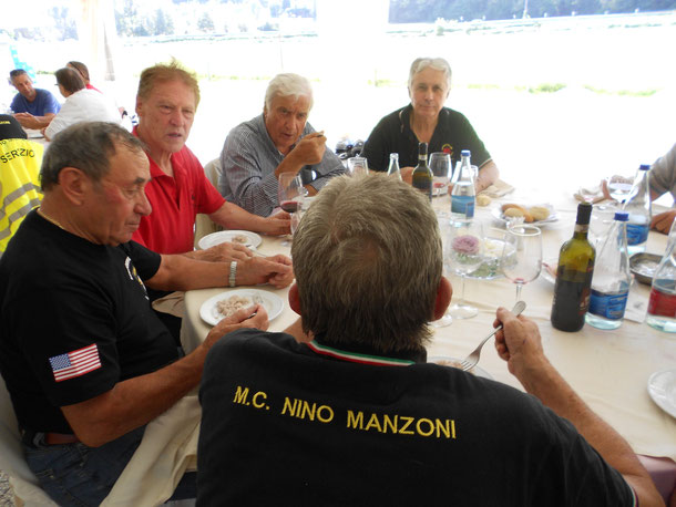 30 Agosto 2015 - Pranzo 22° Motoraduno di Luino