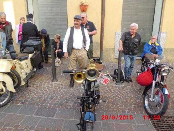 20 Settembre 2015 - Canzo  - partecipazione  CONCORSO DI ELEGANZA SU DUE RUOTE